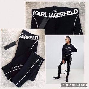 Karl Lagerfeld Women's Punto Leggings with Logo XS